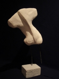 Torso sculpture that I made